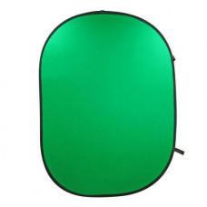 Фон в пружинной рамке Visico BP-028 Chroma Key Хромакей (зелёный) 150x200см